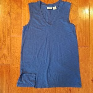 blue tank top extra small
